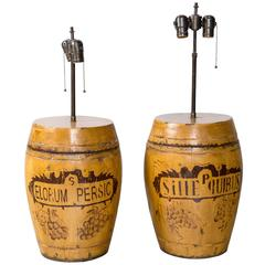 Rice Canister Lamps