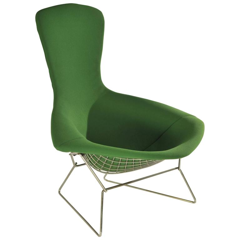 Green Bird Chair By Harry Bertoia For Knoll Usa For Sale At 1stdibs