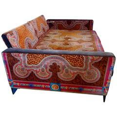 Movie Star Vintage Versace Daybed Couch