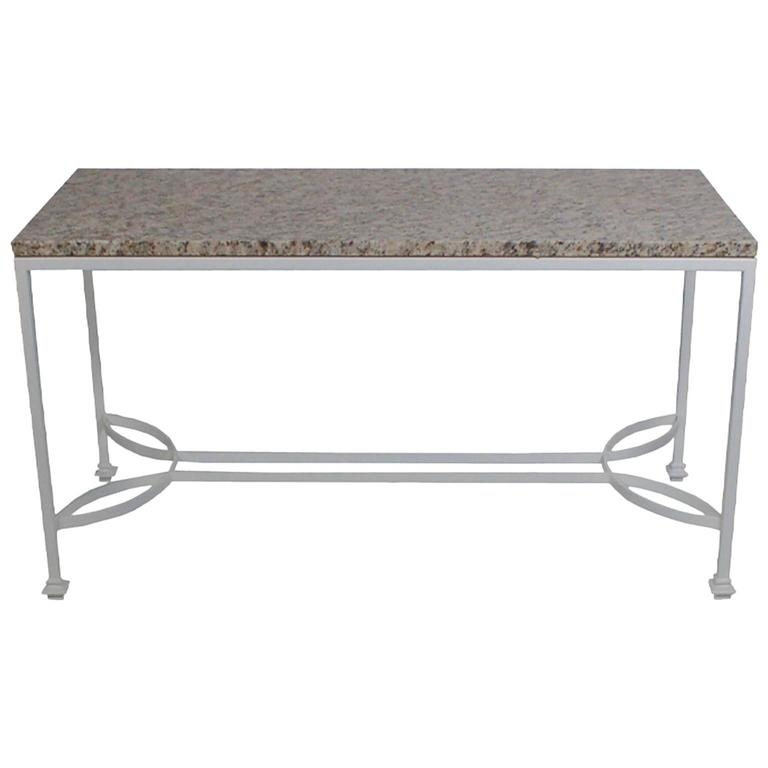 Art Nouveau Garden Table or Console Table