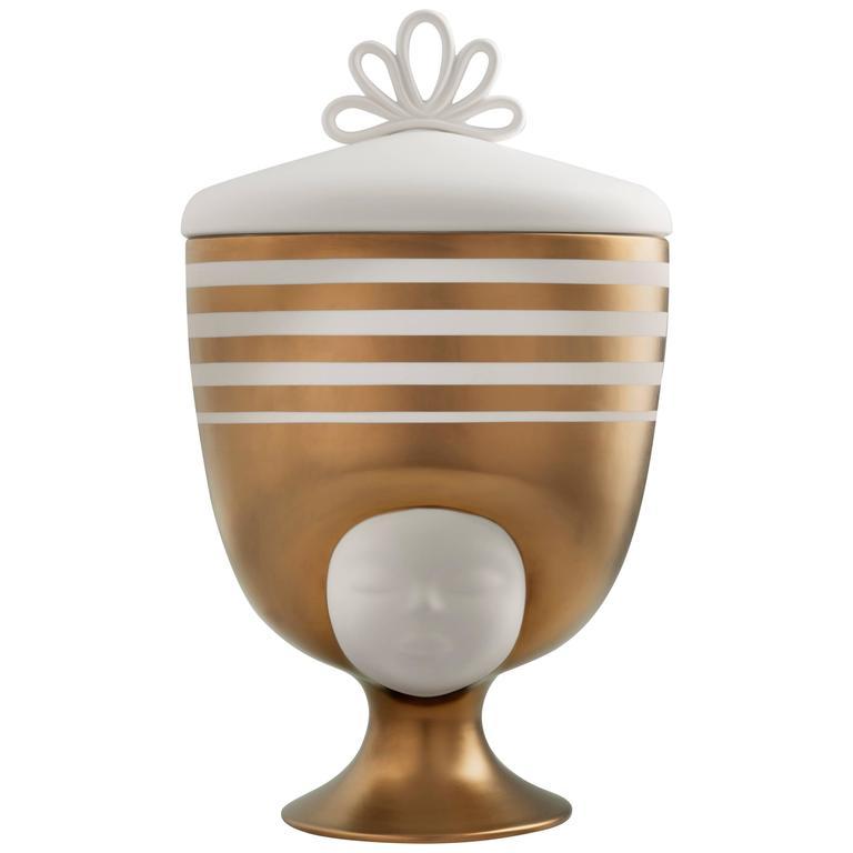 Sister Louise Vase, Special Edition Bronze Designed by Pepa Reverter for Bosa