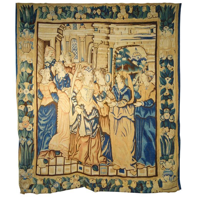 17th Century Franco Flemish Tapestry