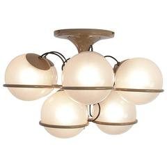 Ceiling Lamp 2042/9 by Gino Sarfatti for Arteluce