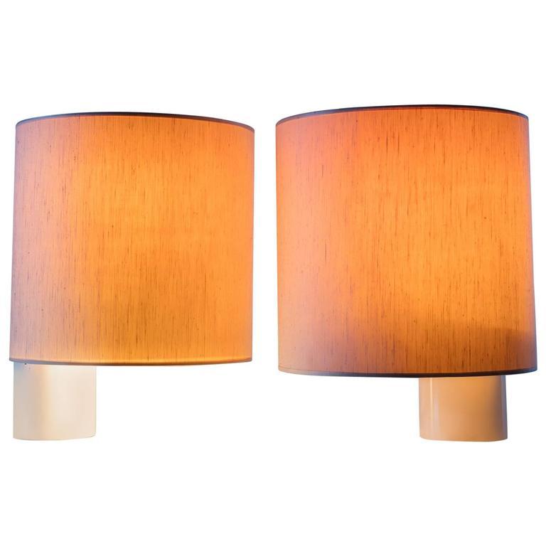 "Pair of ""Fluette"" Table Lamps by Giuliana Gramigna for Quattrifolio"