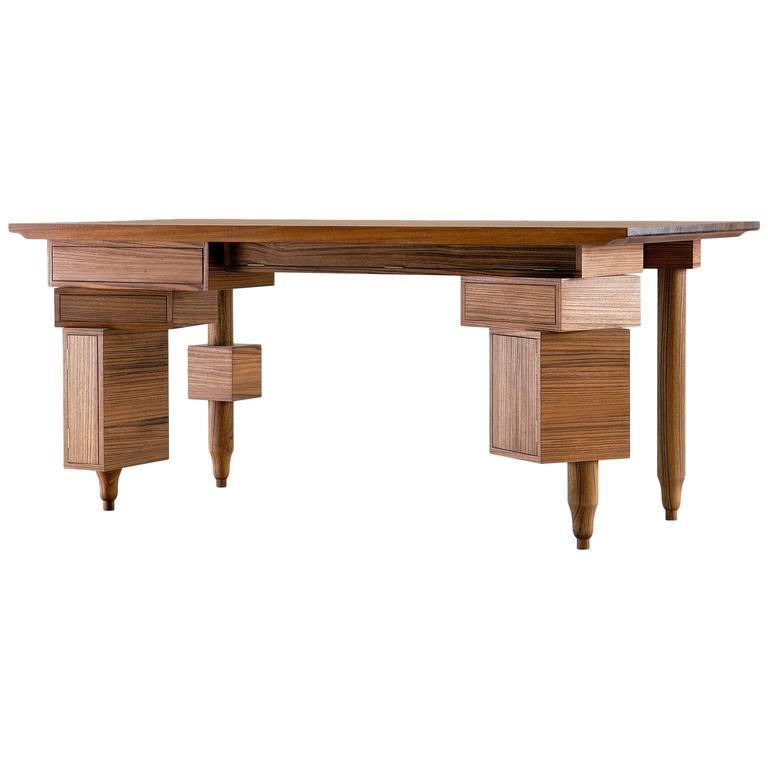 Le Bureau De Paolo Wooden Desk