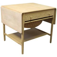 Sewing Table, Model AT-33, in Oak by Hans J. Wegner and Andreas Tuck, 1960s