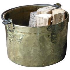 18th Century Dutch Log Basket or Log Holder
