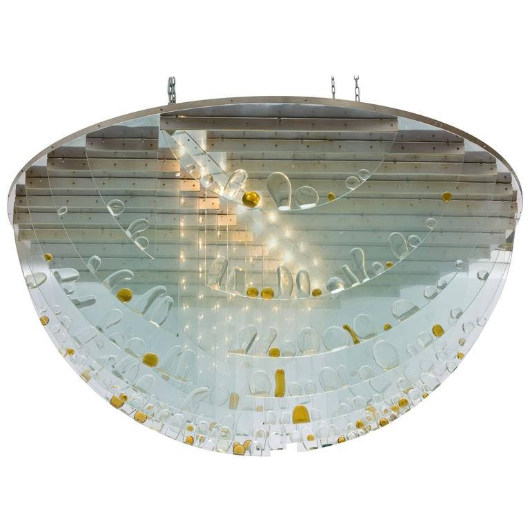 Ceiling Lights Very : Very large ceiling light by ernest krejza and milos