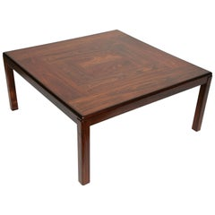 Scandinavian Modern Rosewood Coffee Table Denmark by Vejle Stole & Møbelfabrik