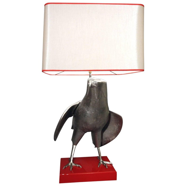 """1970s """"Hawk"""" Table Lamp For Sale"""