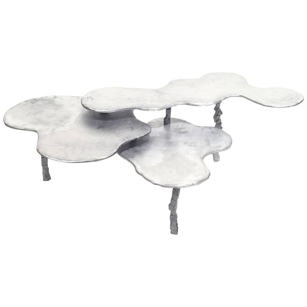 Three Tier Nesting Coffee Table For Sale At 1stdibs