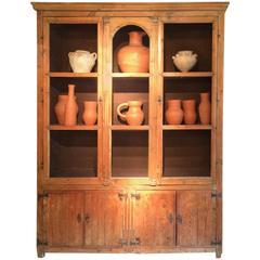 19th Century Spanish Pine Cabinet