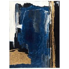 """Blue Lagoon"" Original Painting by Ashley Mayel"