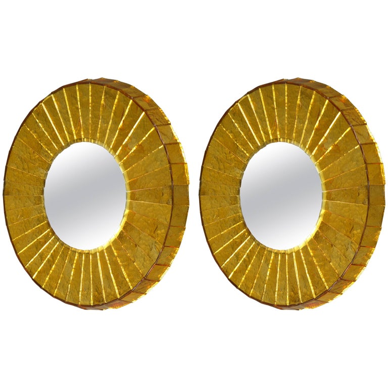 Pair of Mirrors by Roberto Rida, Italy, 2016 For Sale