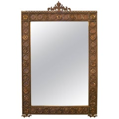 I. P. Frink Large Ornate Illuminated Mirror