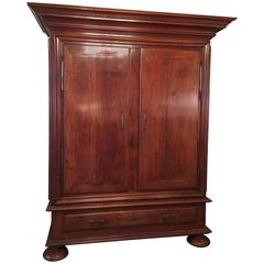 Louis XIV Walnut Armoire