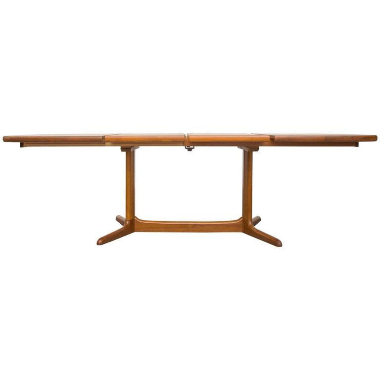 niels moller dining table with extension leaves at 1stdibs