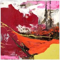 """Intertwine"" Original Painting by Ashley Mayel"