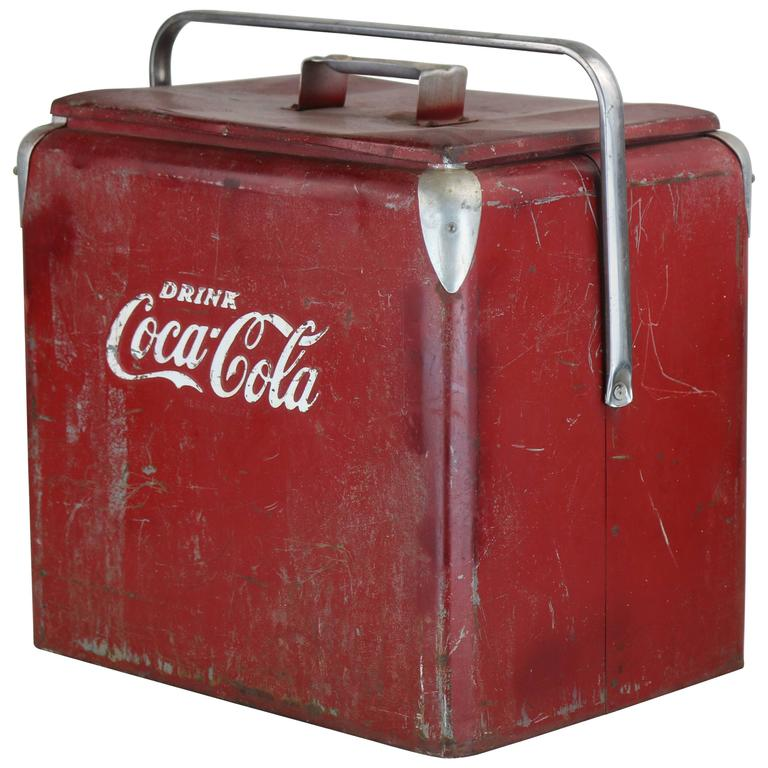 1940s true american classic coca cola cooler in original for 1 door retro coke cooler