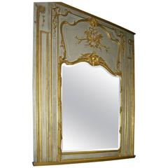 19th Century French Parcel 23 Karat Gold Mirror