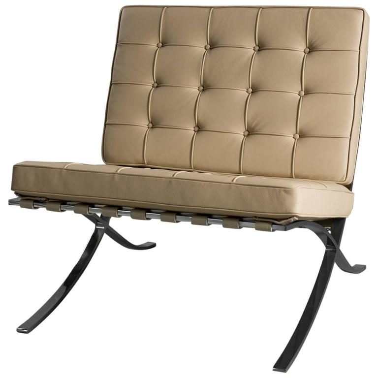 ludwig mies van der rohe for knoll barcelona chair at 1stdibs. Black Bedroom Furniture Sets. Home Design Ideas