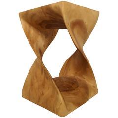Wooden Twist Pedestal