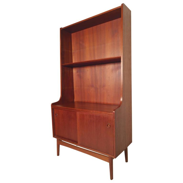 Elegant Mid Century Bookcase From Denmark For Sale At 1stdibs
