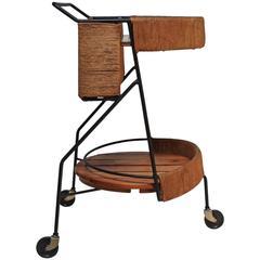 Arthur Umanoff Two-Tier Bar Cart