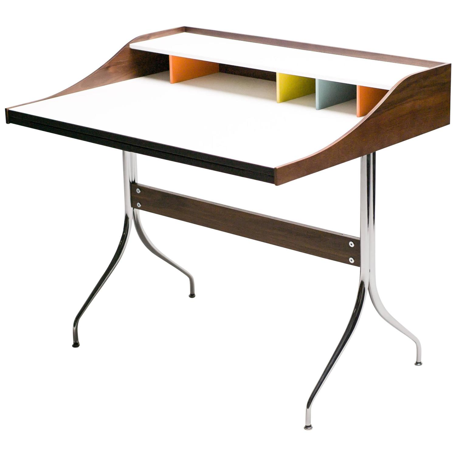 George Nelson Swag Leg Desk At 1stdibs