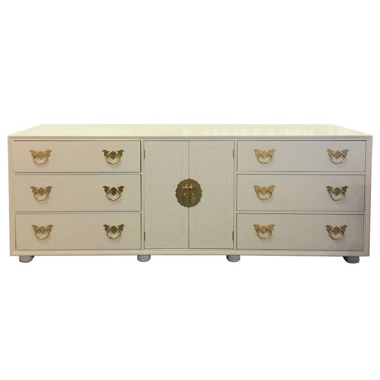 vintage henredon lacquered dresser or credenza at 1stdibs