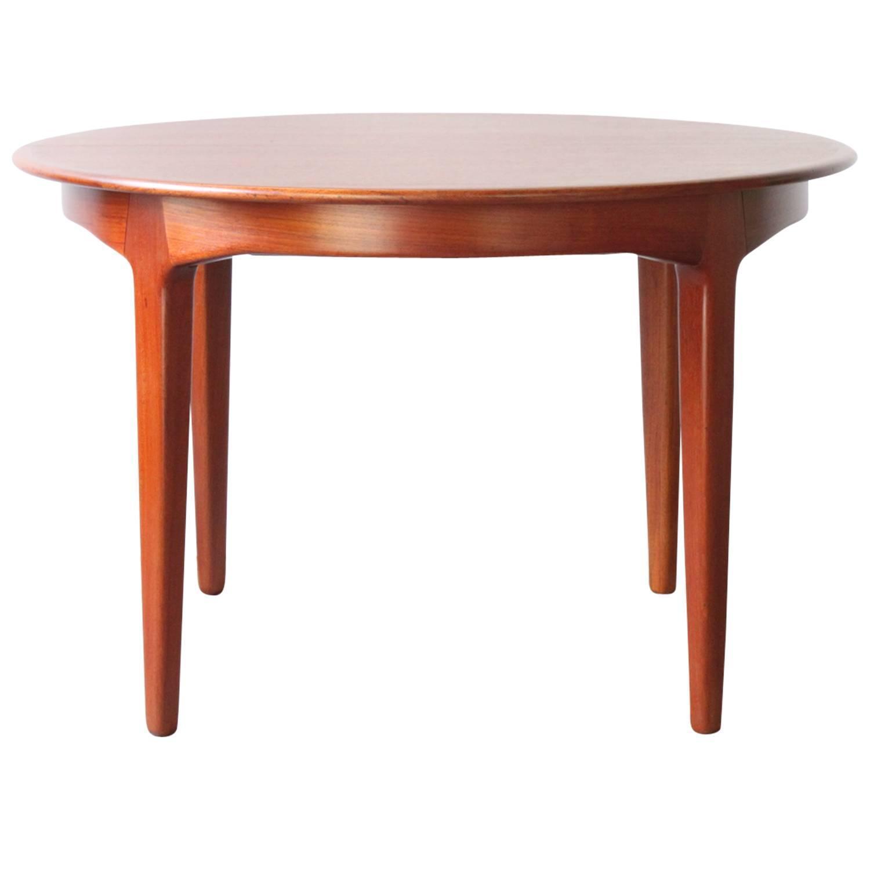 Scandinavian Modern Teak Dining Table By Henning Kj Rnulf At 1stdibs