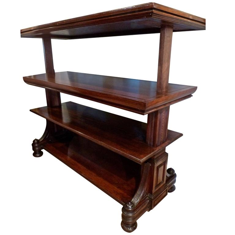 Victorian Metamorphic Dumb Waiter At 1stdibs