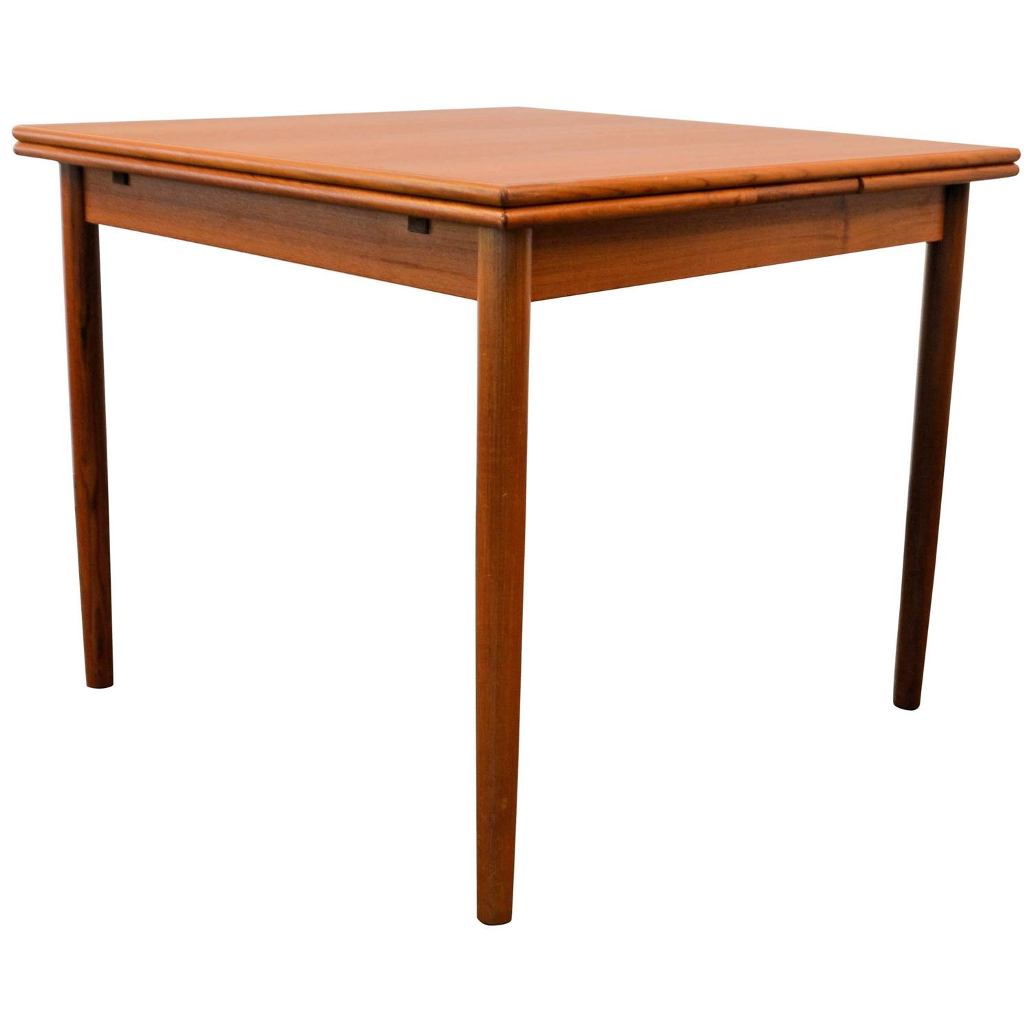 Mid Century Modern Danish Design Teak Dining Table For Sale At 1stdibs