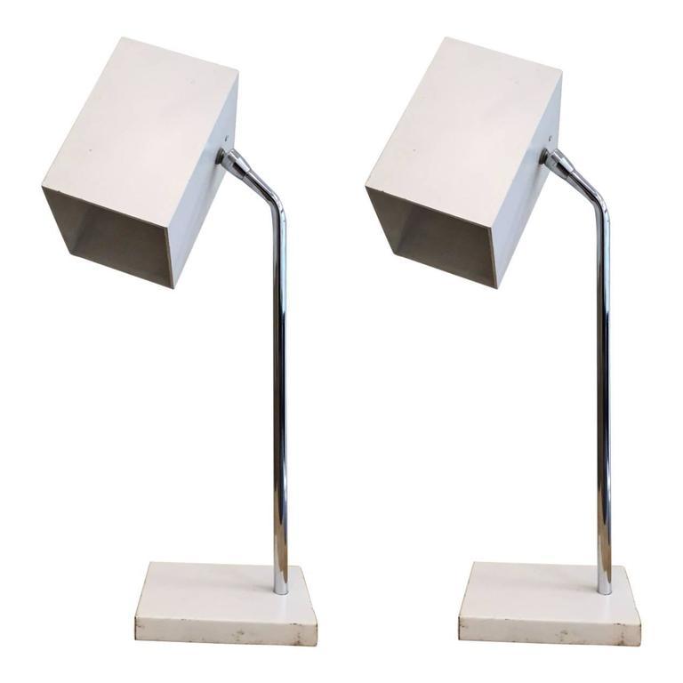 Pair of Robert Sonneman for George Kovacs Lamps