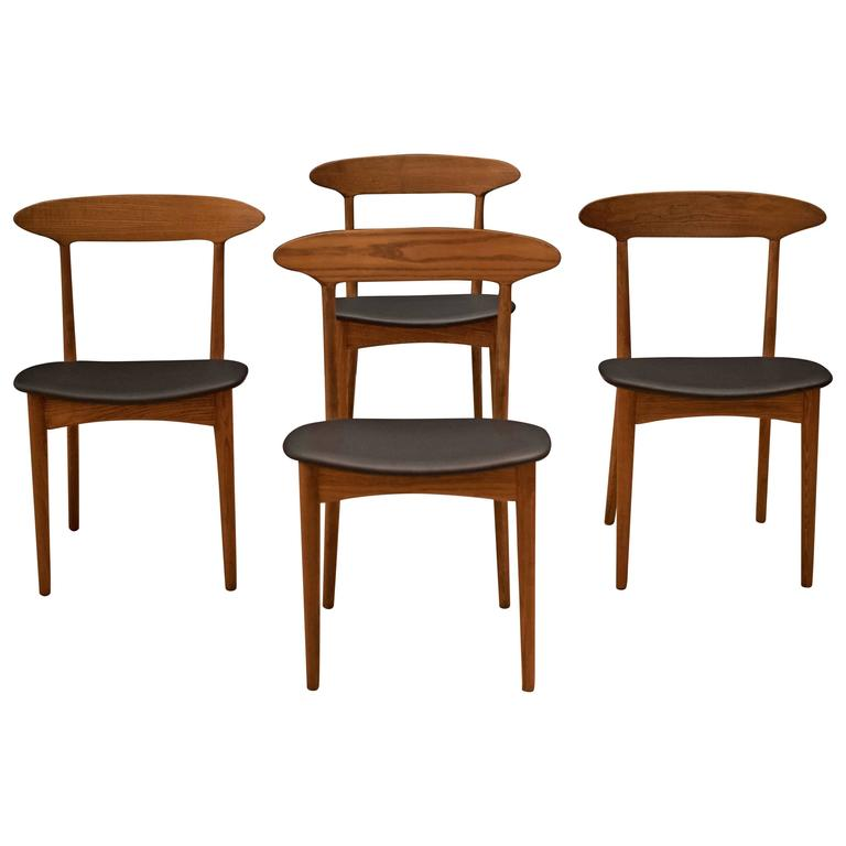 Danish Kurt Ostervig Dining Chairs