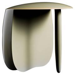 Aldo Bakker Urushi Lacquered Tri Pod Stool, Modern Dutch Design, Ed 5/7