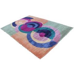 1960s Ege Rya Danish Modern Wool Rug