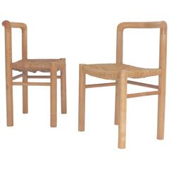 Not Charlotte Perriand but way better Pair of Side Chairs by Gautier-Delaye