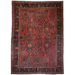 Sarouk Antique Persian Rug