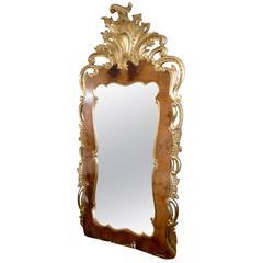 19th Century Large Rococo Mirror