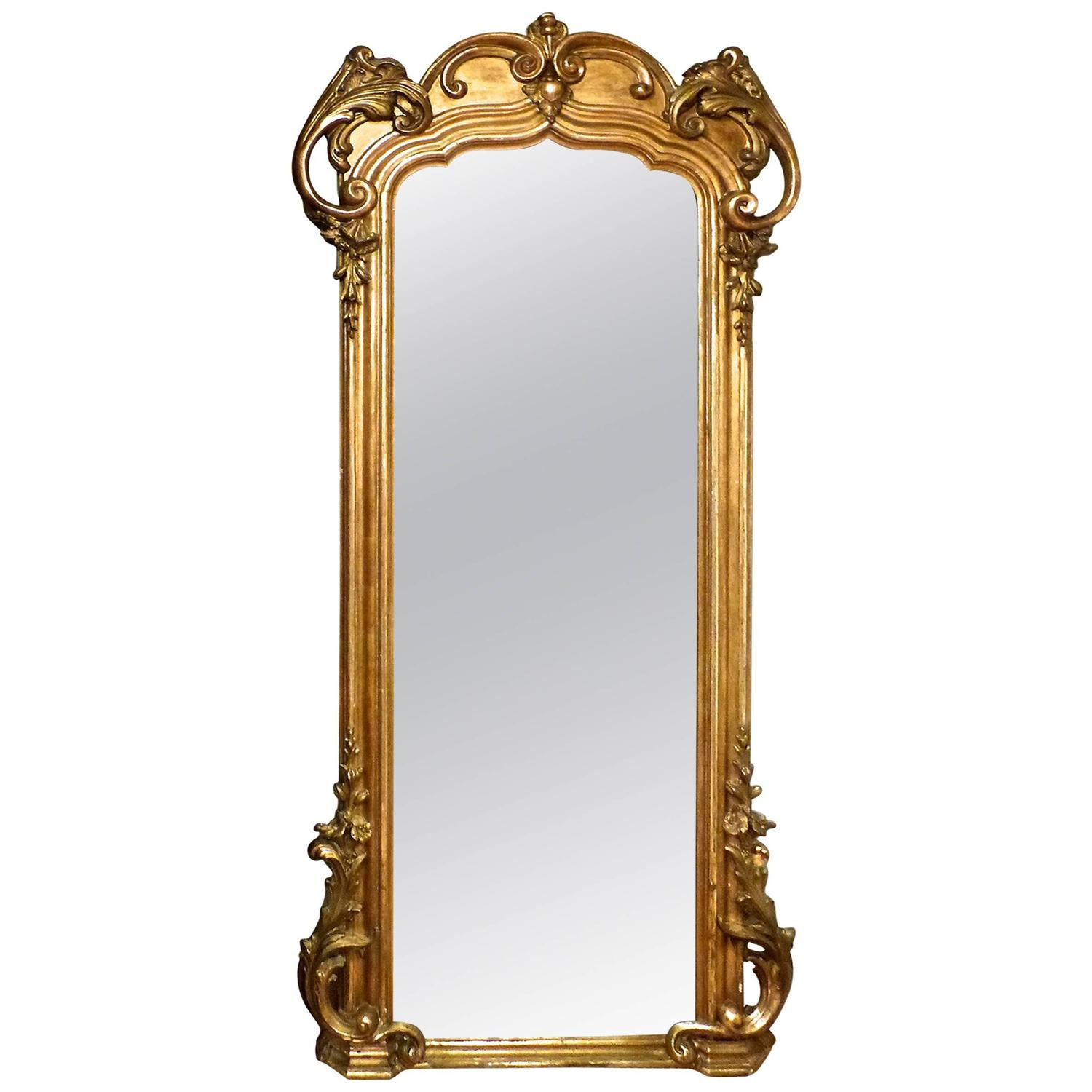 Art Nouveau Mirror For Sale At 1stdibs
