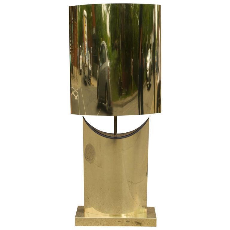 Beautiful Brass Lamp by Curtis Jeré