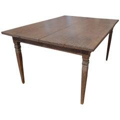 Andrianna Shamaris Wabi-Sabi Teak Wood Dining Table