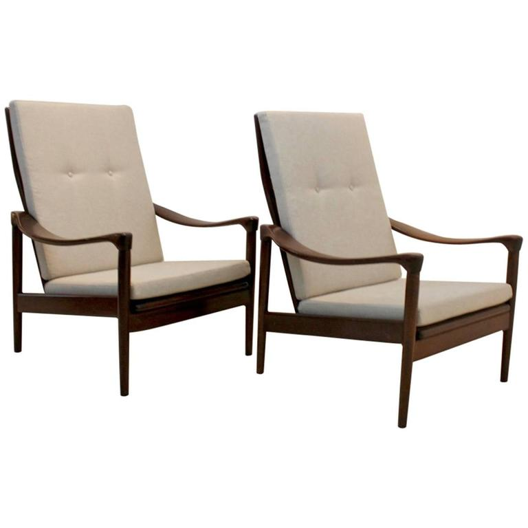 Mid-Century Set of Easy Chairs by De Ster Gelderland, Holland