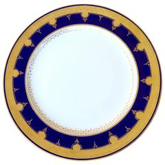 13 Dinner Plates by Minton