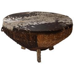 Animal Skin Coffee Table