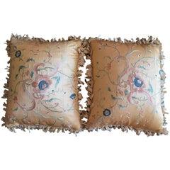 Exquisite Pair of Decorative Pillows