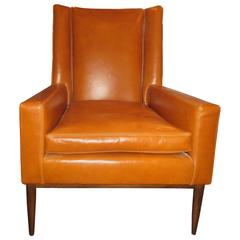 A. Schneller & Sons Custom Leather Chair