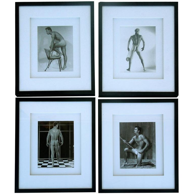 Original Mid-Century Male Beefcake Photos by Bruce Bellas Aka Bruce of LA For Sale