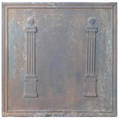 19th Century Pillars Fireback